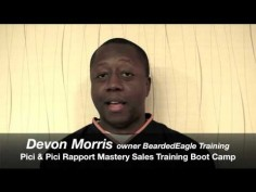 Devon Morris shares his experience with the Rapport Mastery™ Sales Training Boot Camp -CEO Bearded Eagle