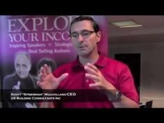 """Scott """"Spiderman"""" Mulholland, CEO, US Building Consultants Inc"""
