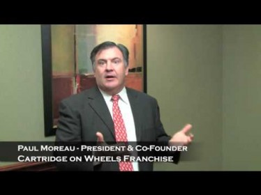 Paul Moreau, President and Co-Founder, Cartridge on Wheels