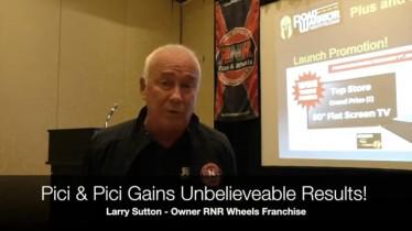 Larry Sutton, Owner, RNR Wheels Franchise