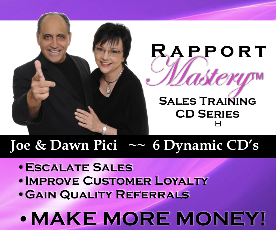Rapport Mastery CD Series