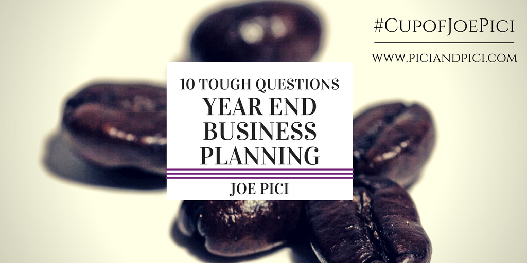 10 Tough Questions for End of Year Business Planning