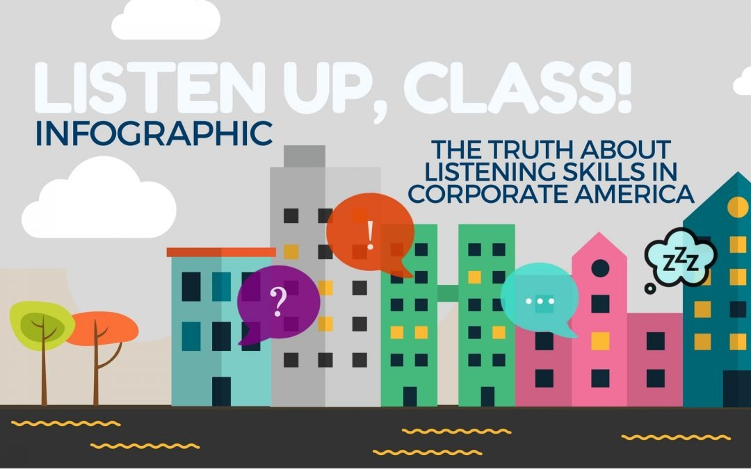 The Truth About Listening Skills in Corporate America [INFOGRAPHIC]
