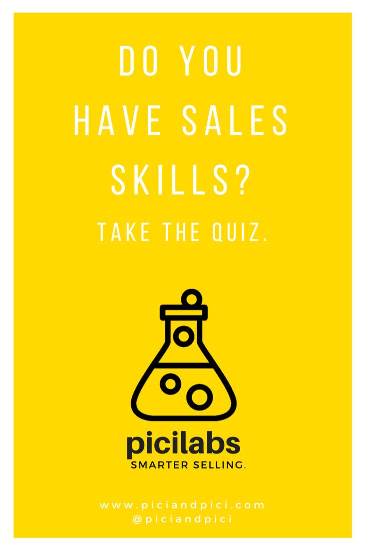 sales potential quiz