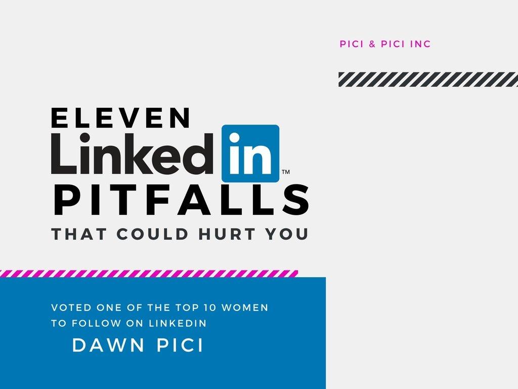 11 LinkedIn Pitfalls (That Could Hurt You) [eBook]