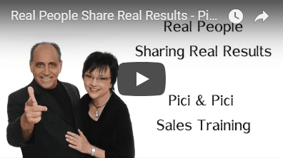 Real People Share Real Results - Pici & Pici Sales Training