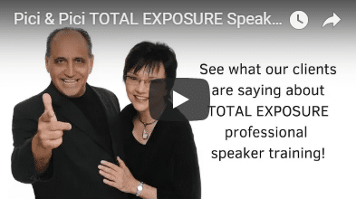 Pici & Pici TOTAL EXPOSURE Speakers Boot Camp