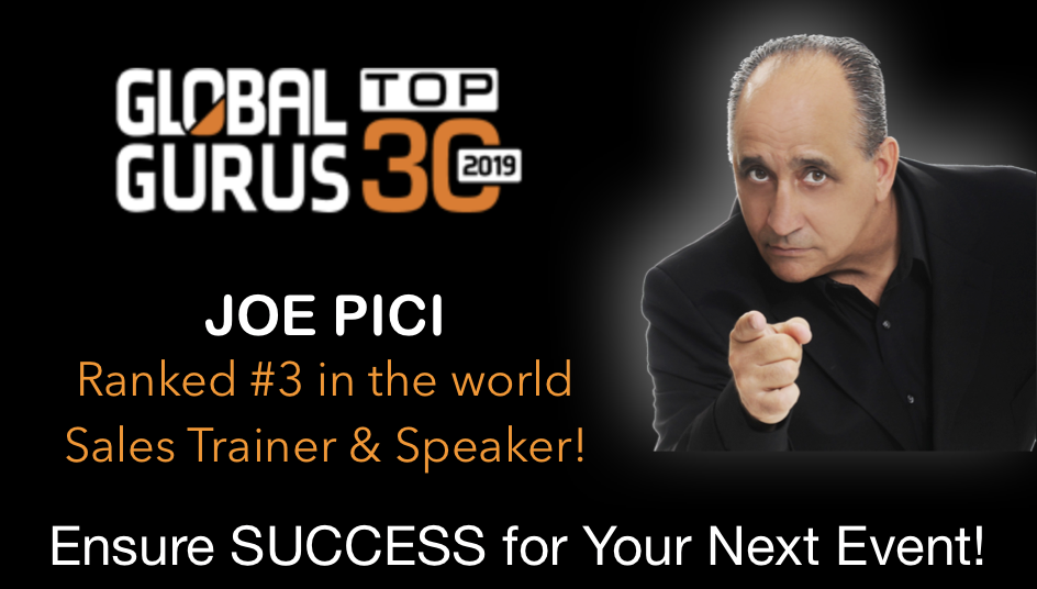 Joe Pici Corporate Sales Training