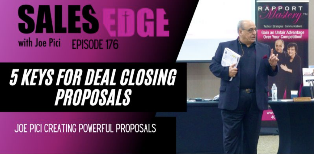 Ep. 176 The Power of the Proposal