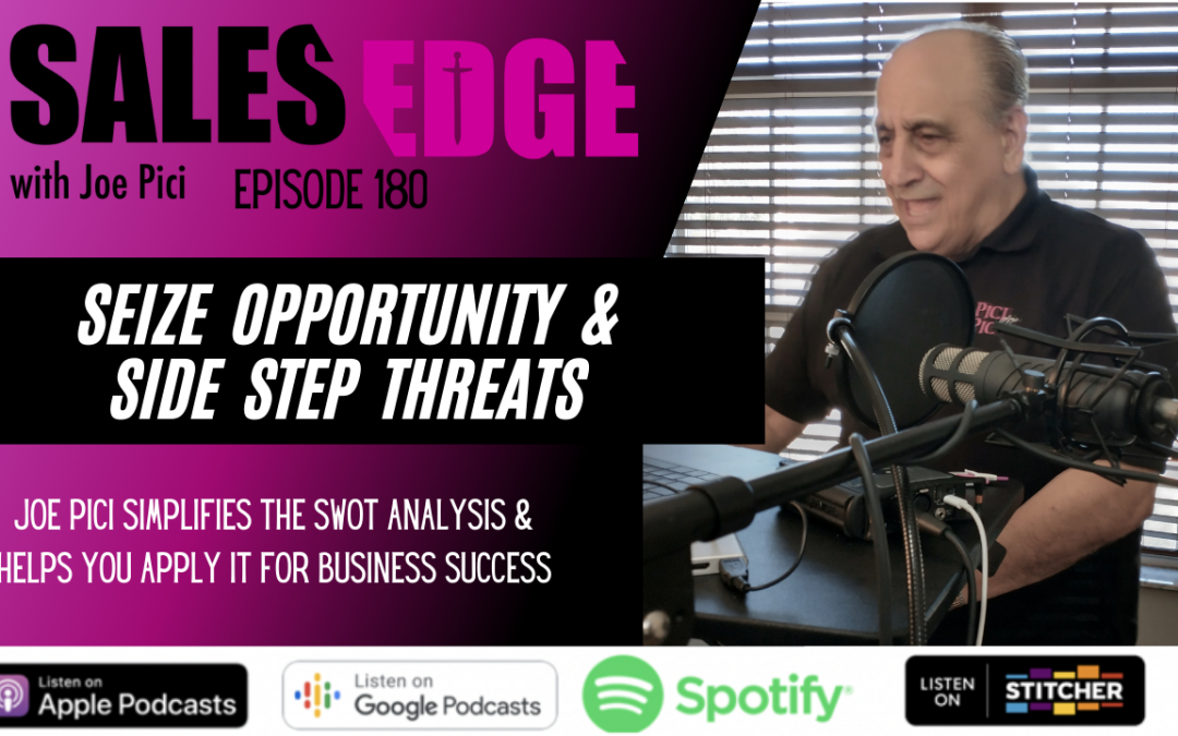 Ep. 180 Seize Opportunity & Side Step Threats