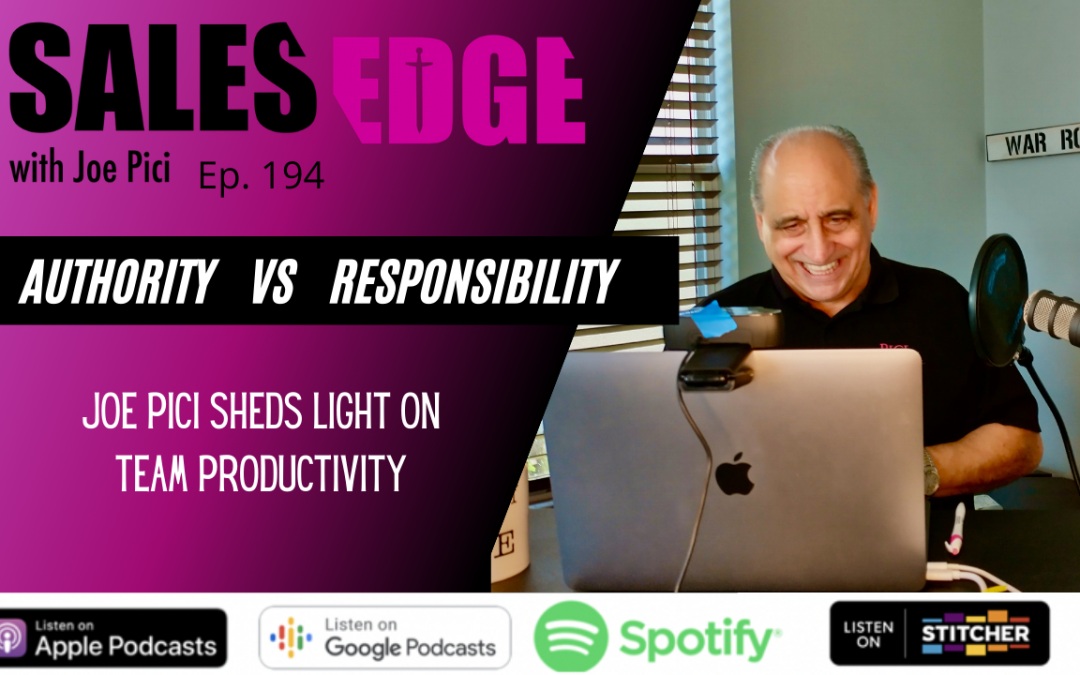 Ep. 194 Authority vs  Accountability: A New Perspective in Leadership