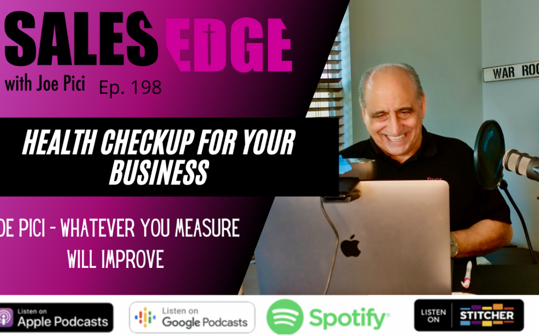 Ep. 198 A Health Checkup for Your Business
