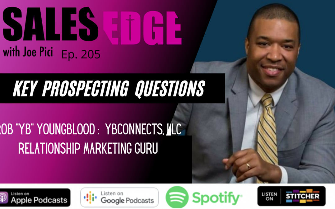 """Ep. 205 INTERVIEW – Rob 'YB"""" Youngblood"""