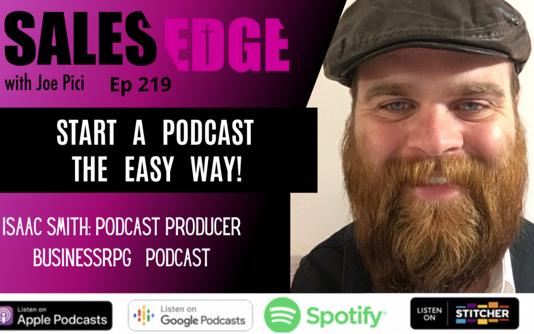 Ep. 219 INTERVIEW – Isaac Smith