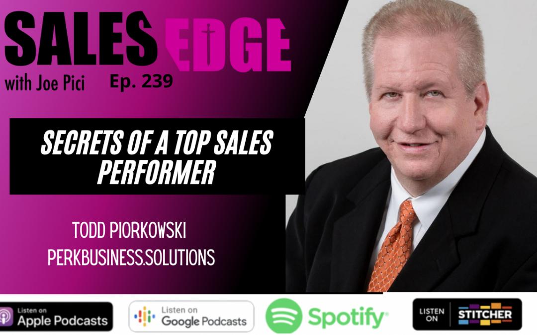 Ep. 239 INTERVIEW – Todd Piorkowski